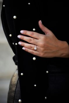 Close up 😍💍 #pearls #ring #style