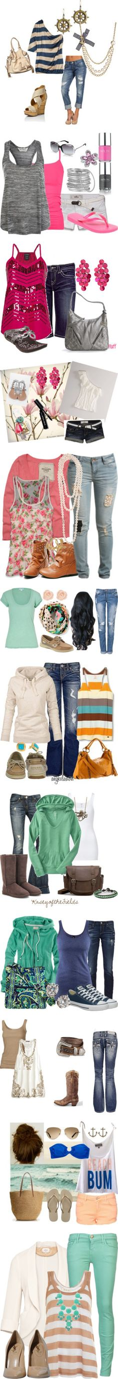 """Summertime"" by caitlen98 on Polyvore"