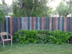 Minwax stained fence