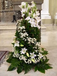 Image result for decoración floral de iglesia