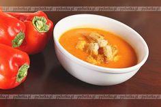 Paprykowa zupa-krem.