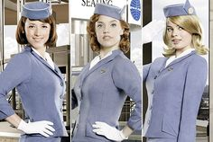 From Pillbox Hat to Bullet Bra: The Anatomy of a Pan Am Stewardess Uniform