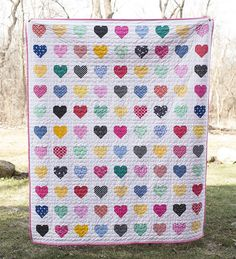 Hanna Hearts Quilt | Flickr - Photo Sharing!