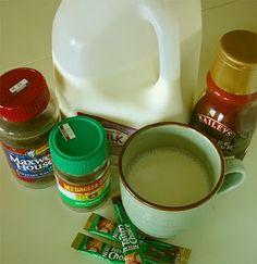 Quick, homemade latte