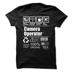 Camera Operator T-Shirts, Hoodies, Sweatshirts, Tee Shirts (21.99$ ==► Shopping Now!)