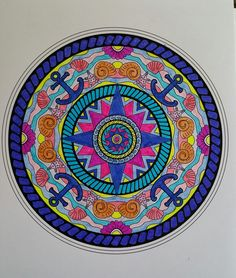 ColorIt Mandalas Volume 2 Colorist: Linda Noyola #adultcoloring #coloringforadults #mandalas #mandalastocolor
