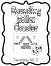 Rounding Roller Coaster product from TeachingMy3 on TeachersNotebook.com