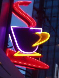 ♨ neon coffee