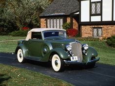 1934 Graham 67 Special 8 Convertible Coupe