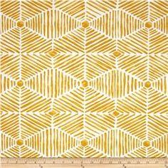 Premier Prints Indoor/Outdoor Heni Citrus Yellow