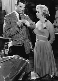 Cary Grant & Marilyn Monroe in Monkey Business.