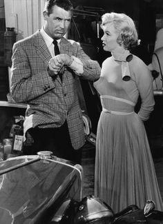 Cary Grant & Marilyn Monroe in Monkey Business.