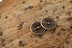 Handmade wooden earrings made by the members of Athens Makerspace. They are made with high quality materials. Handmade Wooden, Handmade Gifts, Wooden Earrings, Athens, Drop Earrings, Trending Outfits, Unique Jewelry, Etsy, Vintage
