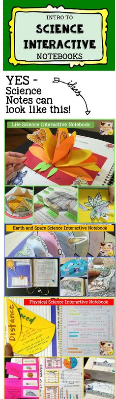 to Science Interactive Notebooks Science Interactive Notebooks - An introduction to setting up and maintaining INB's for you and your students.Science Interactive Notebooks - An introduction to setting up and maintaining INB's for you and your students. 8th Grade Science, Elementary Science, Science Classroom, Teaching Science, Science Education, Science Activities, Science Experiments, History Education, Science Resources