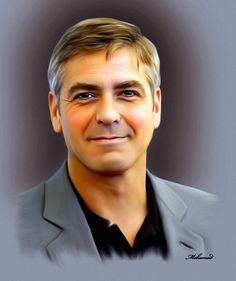 George Clooney - by Ebn Misr                                                                                                                                                                                 More