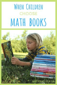When Children Choose Math Books: My kids asked for…