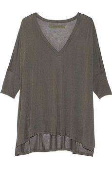 ENZA COSTA Oversized modal-blend top | THE OUTNET