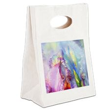 Abstract mystical Canvas Lunch Tote