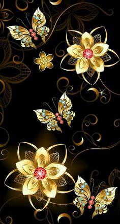 Best Butterfly Ever Fractal Art Bling Wallpaper, Flower Phone Wallpaper, Butterfly Wallpaper, Butterfly Art, Cellphone Wallpaper, Galaxy Wallpaper, Flower Art, Iphone Wallpaper, Hd Phone Wallpapers