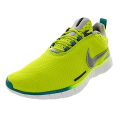 Nike Men's Free OG '14 Bright Venom / Silver/White Running Shoe