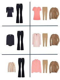 The Vivienne Files: Packing with Four by Four: Navy, Tan and Coral