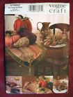 VOGUE CRAFT,AUTUMN TABLE TOP ACCESSORIES PATTERN 7952 One Size OOP - http://sewingpins.net/sewing-cabinets/vogue-craftautumn-table-top-accessories-pattern-7952-one-size-oop/