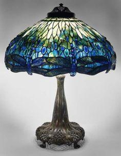 Dragonfly Shade Lamp by Century Studios