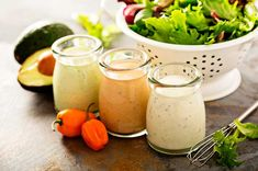 The Tasty Salad Dressing Recipe Trainers Swear By To Lose Weight - SHEfinds Low Carb Dressing, Keto Salad Dressing, Keto Ketchup, Sugar Free Ketchup, Miso Ginger Dressing, Keto Powder, Creamed Cucumbers, Kinds Of Salad, Food Staples
