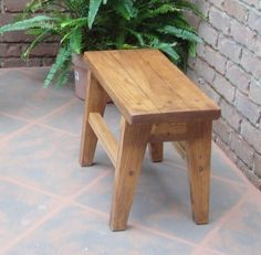 PS Style 24 Inch Bench or Side Table