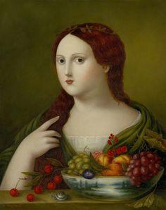 Fatima Ronquillo painting