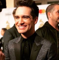 Source: Instagram | Brendon Urie ; Pre-Grammys Gala 02/11/2017