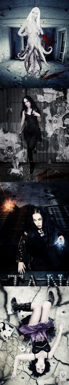 Little Photoshop of Horrors by Kian Eriksen, via Behance