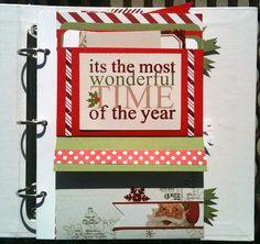 TERESA COLLINS DESIGN TEAM: Santa's List Mini Album by @Brett Lund