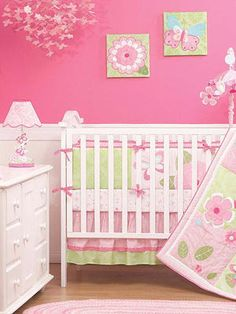 Baby Girl Nurseries - Looking for unique nursery ideas? Browse through our gallery of baby girl nurseries for some inspiration. Look at more great nurseries on TheBump.com.