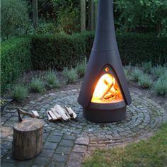 Pharos outdoor stove from Harrie Leenders