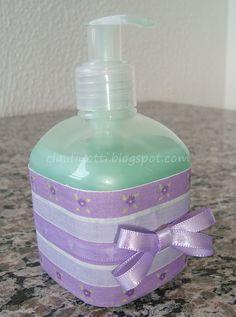 Embalagem de sabonete líquido customizada