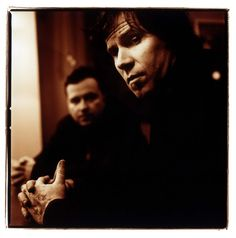 Mark Lanegan - his musical sensibility, his voice, his tats, and check out that face