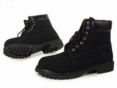 Timberland Women Boots All Black