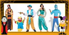 Aladdin and Jasmine Halloween Costumes
