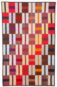http://www.dailycraft.com/blog/2012/05/free-quilting-pattern-west-african-strip-quilt-2/
