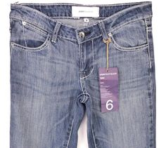 """NEW Paper Denim & Cloth Jeans - Skinny Boot Cut """"Tyler"""" Size 6 30/32 NWT Becky #PaperDenimCloth #BootCutSlimSkinny"""