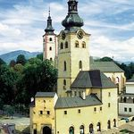 The town castle was once formed by several ancient buildings in the central Slovakian metropolis Banská Bystrica. Its task was to protect the income proceedings of copper and silver mining for the royal treasury. Slovakia.