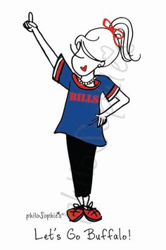 fan requested philoSophie's pin!... Let's Go Buffalo! :: www.shopsophies.com