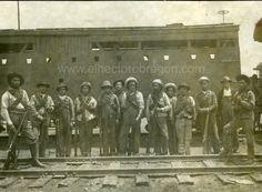 Los soldados-obreros incorporados a las fuerzas del General #alvaroobregon