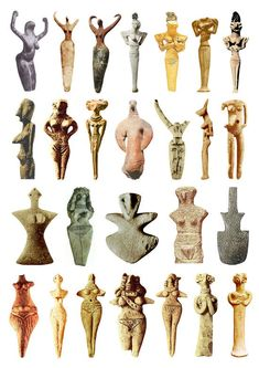 Examples of the mother Goddess Sculptures of all ancient Cultures, they are eerily similar, yet we are taught that these civilizations each existed in a vacuum, with no contact amongst each other for thousands of years, across multiple continents. Ancient Goddesses, Gods And Goddesses, Egyptian Mythology, Egyptian Goddess, Egyptian Art, Sculptures Céramiques, Sculpture Art, Ancient History, Art History
