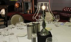 Our new Ghost Lamp, an idea thought up by crew member Rob Adams, looked stunning at this event in Reading. Rob Adams, Table Centers, Recent Events, Looking Stunning, Centre, Table Lamp, Reading, Home, Design