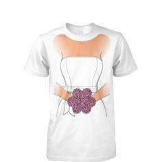 Faux Bridesmaid Dress T-Shirt