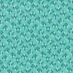 SALE - Color Me Happy - Cluster Drops in Teal: sku cotton quilting fabric by V and Co. for Moda Fabrics - 1 yard Cool Fabric, Pink Fabric, Navy Quilt, Cotton Quilting Fabric, Modern Fabric, One Pic, Teal, Drop, Quilts