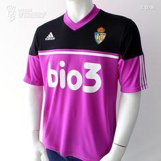 Camiseta oficial S. D. PONFERRADINA, temporada 2013 / 14, Liga Adelante.