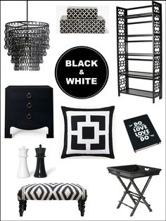 Interior Design Boards Black White Home Decor Inspiration E